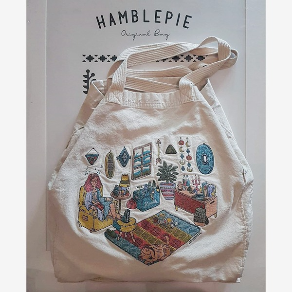Hamblepie Living Tote(New5%off ~10.7)